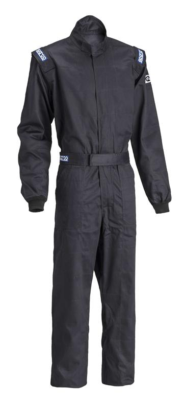 Sparco Black Driver Suit: XXX-Large