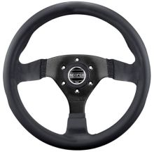 Sparco Strada Leather Steering Wheel 350mm