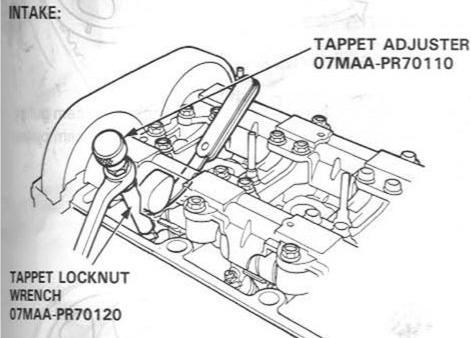 Honda Valve Lash Adjustment Tool