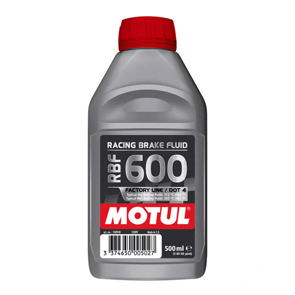 Motul RBF 600 Racing DOT 4 Brake Fluid (1/2 L)