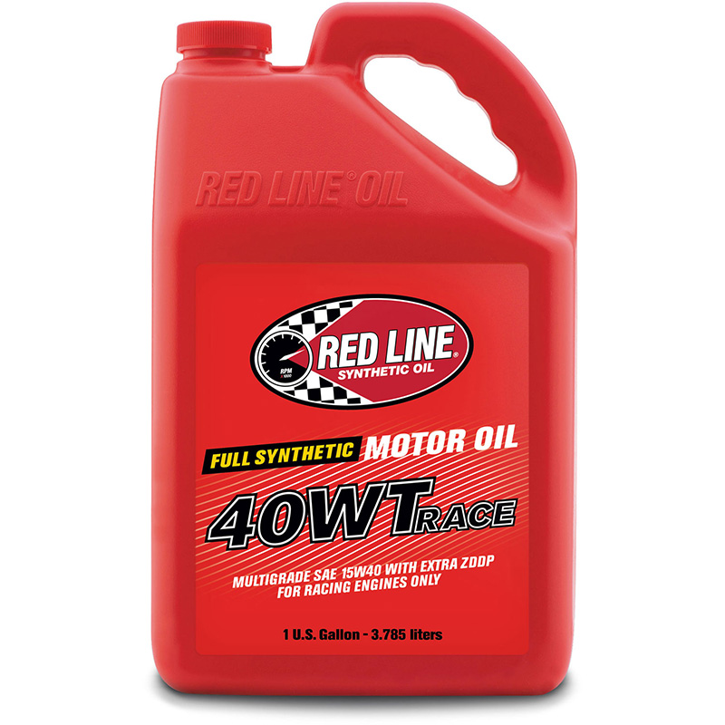 Red Line 40WT Synthetic Race Oil: Gallon