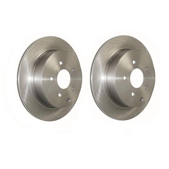Centric Standard Rear Rotors: Pair