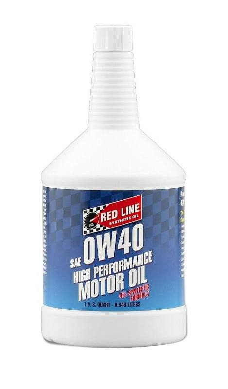 Red line 0w 40 synthetic motor oil quart k series parts for What is synthetic motor oil made out of