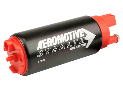 Aeromotive 340 Stealth Fuel Pump: Offset Inlet