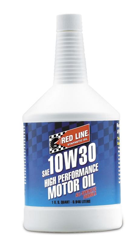 Red Line 10W-30 Synthetic Motor Oil: Quart