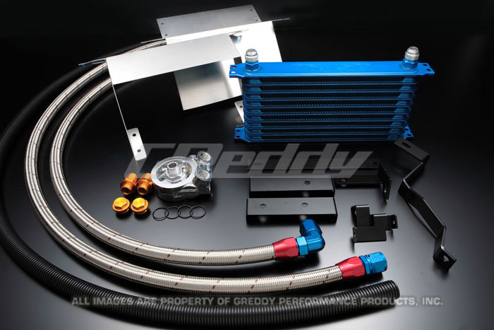 GReddy Racing 00-03 S2000 10 Row Circuit Spec Oil Cooler Kit