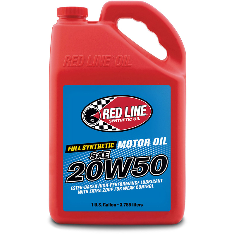 Red Line 20W-50 Synthetic Motor Oil: Gallon