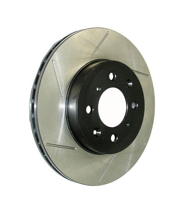 StopTech 00-09 S2000 Slotted Rotor: Front Left