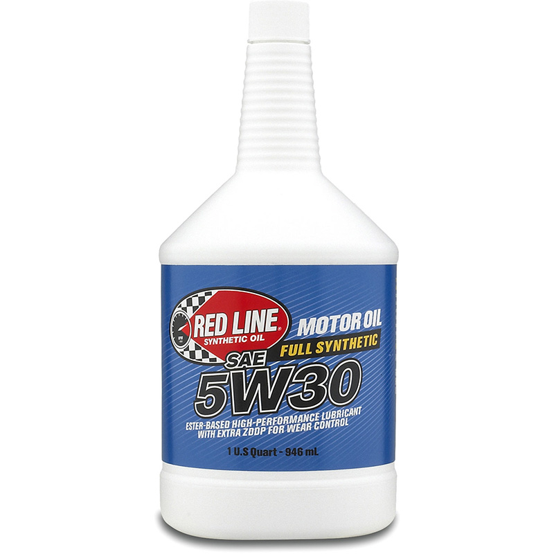 Red Line 5W-30 Synthetic Motor Oil: Quart