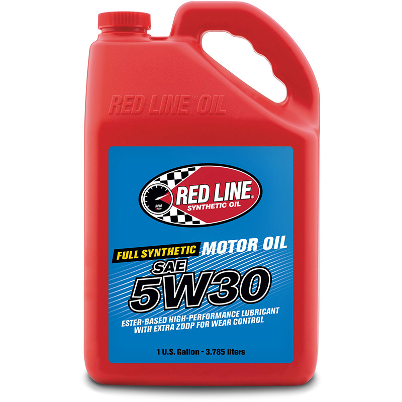 Red Line 5W-30 Synthetic Motor Oil: Gallon