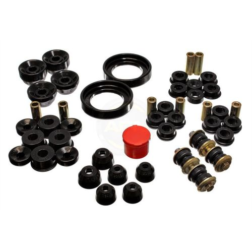 Energy Suspension Bushing Kit: Black