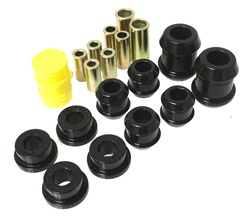 Energy Suspension Front Control Arm Bushings: Black