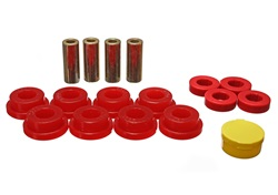 Energy Suspension Rear Control Arm Bushings: Red