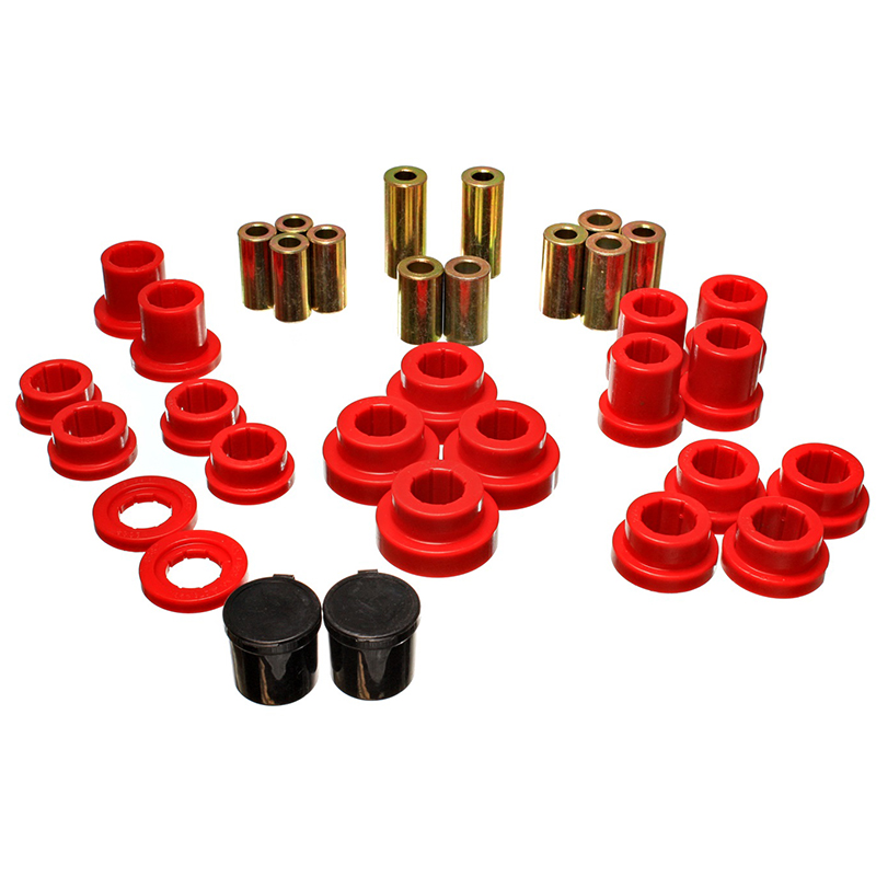 Energy Suspension 00-09 S2000 Rear Control Arm Bushings: Red