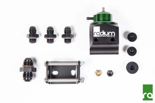 Black Top rad20-0100-0 Radium Engineering Multi-Pump Fuel Pressure Regulator