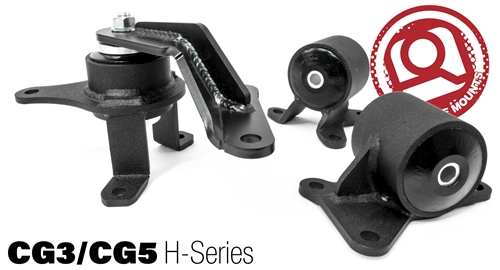 Innovative 98-02 Accord  H Series Manual Conversion Motor Mount Kit: 75A