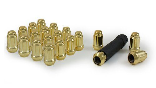 Gorilla Gold Lug Nuts: 20 Pack M12 x 1.5-A1