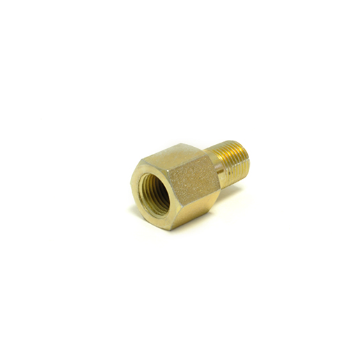 AutoMeter Oil Pressure Metric Adapter: NPT to BSPT