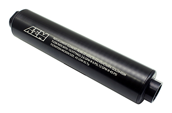 AEM Universal High Flow -10 AN Inline Fuel Filter