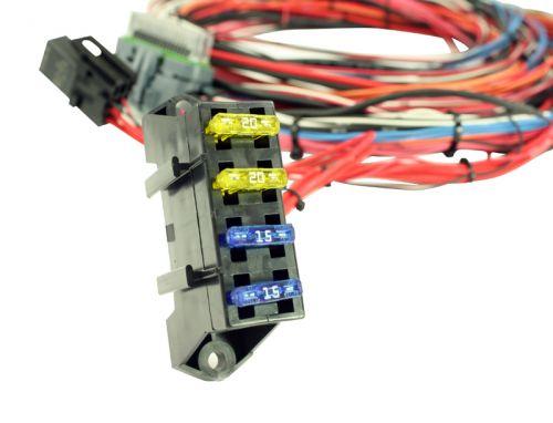 AEM EMS 4 Wiring Harness w/ Fuse & Relay Panel Aem Wiring Harness on