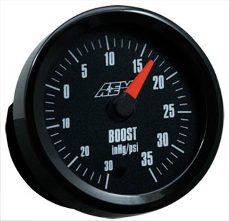 AEM Analog Boost Gauge (30-35PSI)