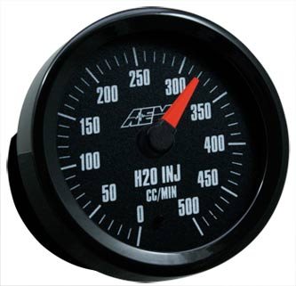 AEM Analog Water/Methanol Flow Gauge