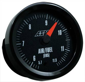 AEM Analog E85 Wideband Air/Fuel Gauge