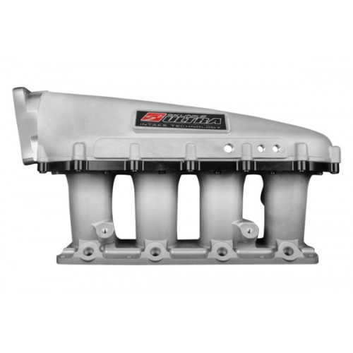 Skunk2 Ultra Series 3.5L Intake Manifold: Silver with Black Spacer