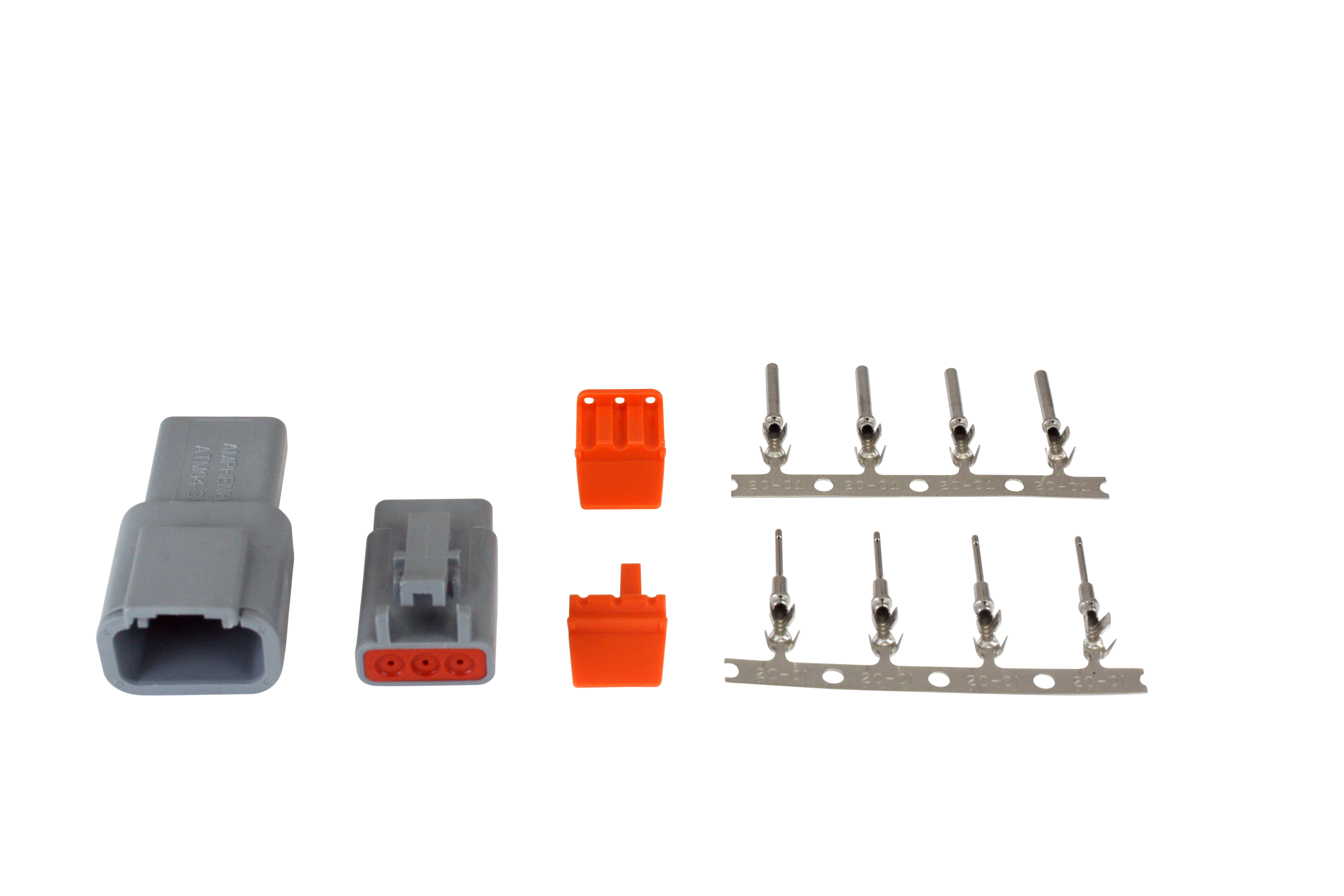 AEM Electronics DTM-Style 3-Way Connector Kit