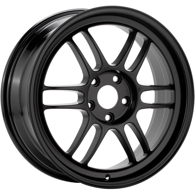 Enkei RPF1 Matte Black Wheel: 18x9.5 +38