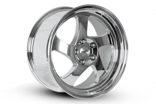 Whistler KR1 Chrome 17x9 +25mm Offset Wheel: 5x114.3-A1