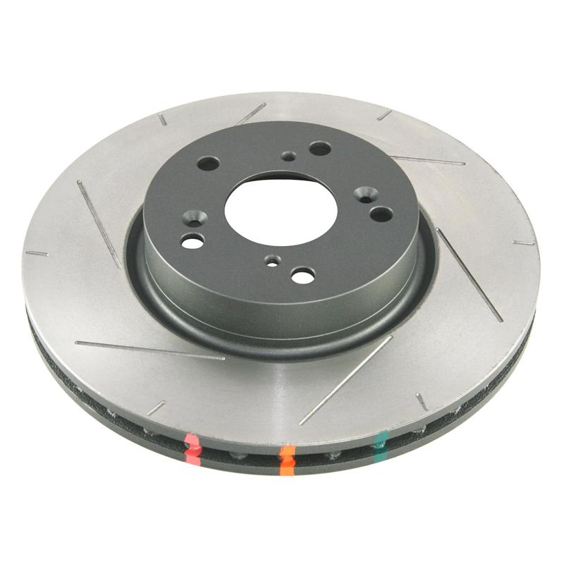 DBA 4000 Street Series Slotted Front Rotors: Pair