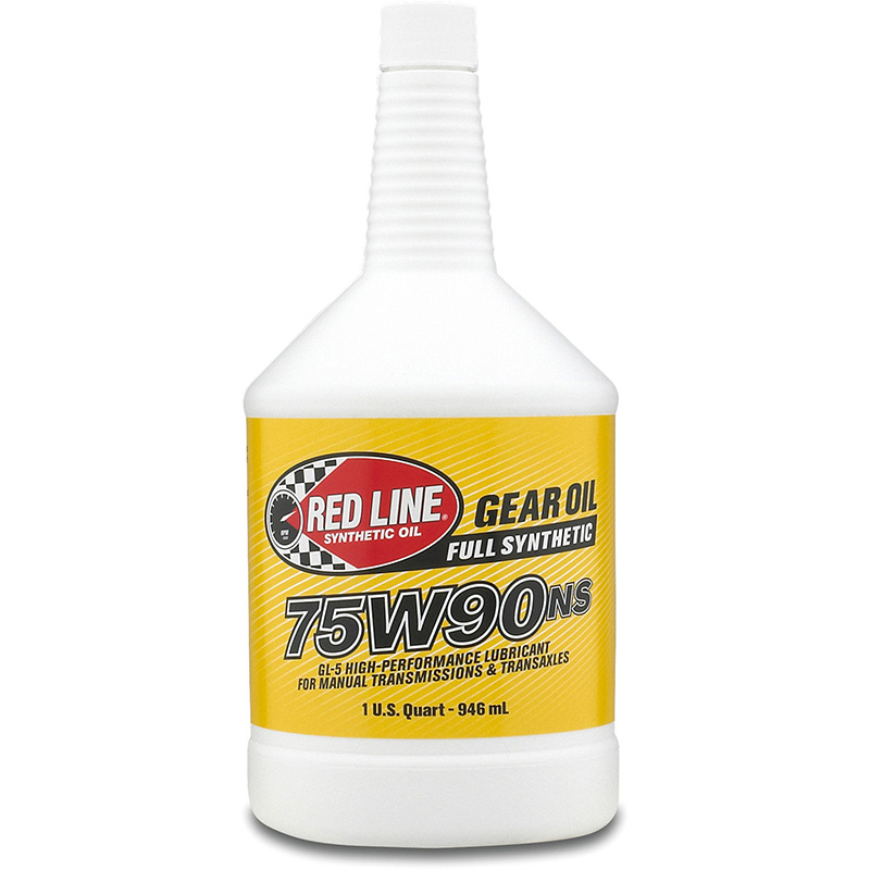 Red Line 75W-90NS GL-5 Gear Oil: Quart