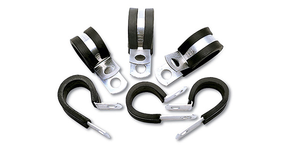Russell 6AN Cushion Clamps: 10 Pack