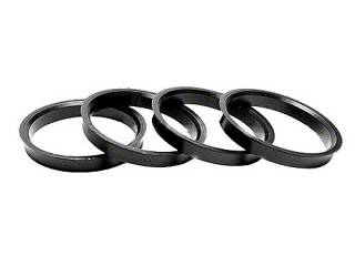 Gorilla Hub Centric Rings 4 Pack: 71mm O.D. to 63.90mm I.D.