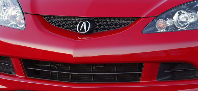 Acura RSX Front Upper Grille K Series Parts - Acura rsx front emblem