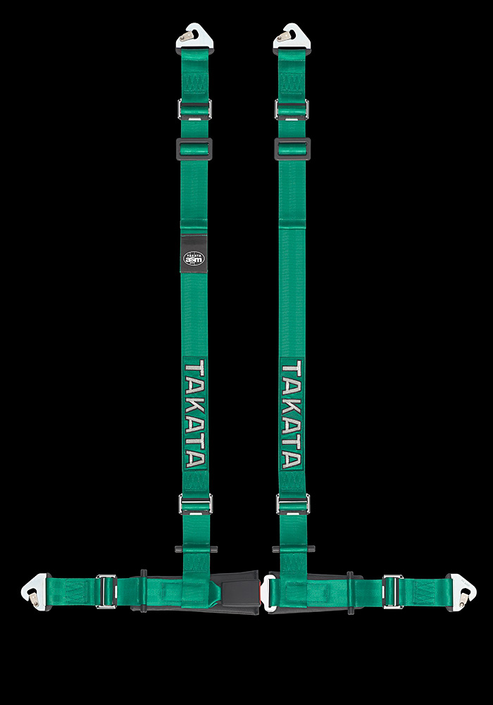 Takata Drift II Green Snap Harness