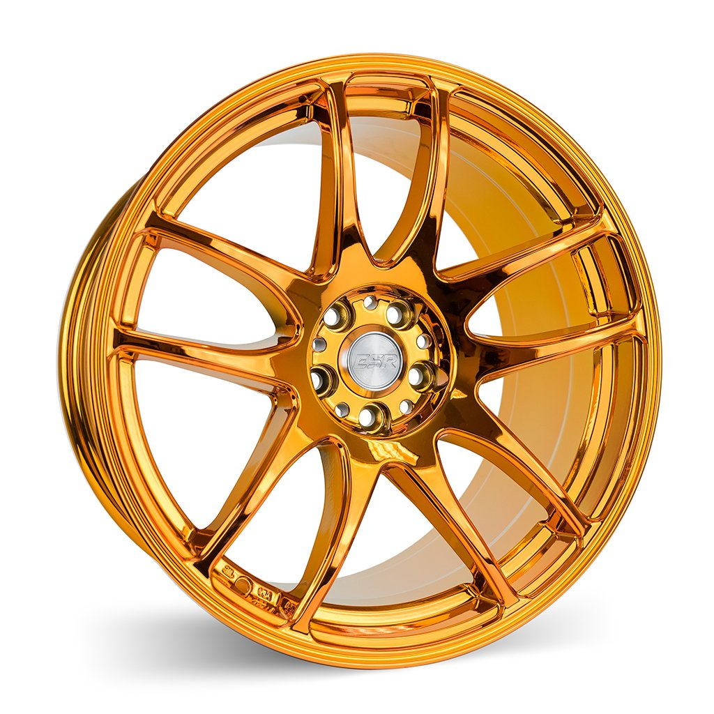 ESR SR08 Copper Chrome 17x8.5 5x114.3 30 Offset Wheel