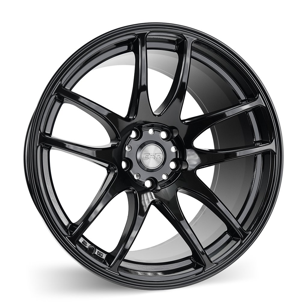 ESR SR08 Gloss Black 17x8.5 5x114.3 30 Offset Wheel