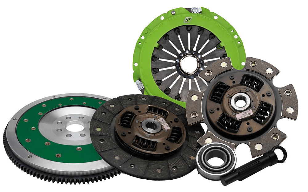 Fidanza K Series Qwik Rev V2 Series Clutch Kit: Includes Flywheel