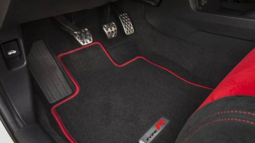 Honda Oem 17 18 Civic Type R Front And Rear Floor Mat Set