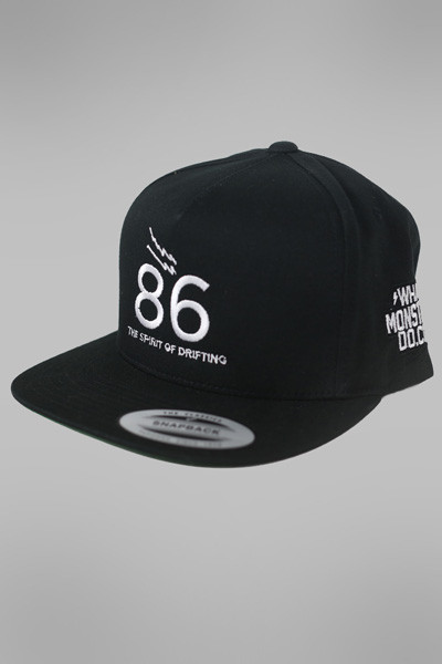 What Monsters Do 86 Spirit of Drifting Snapback Hat