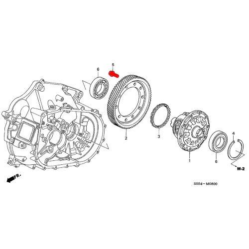 Honda Differential Ring Gear Bolt (11mm)