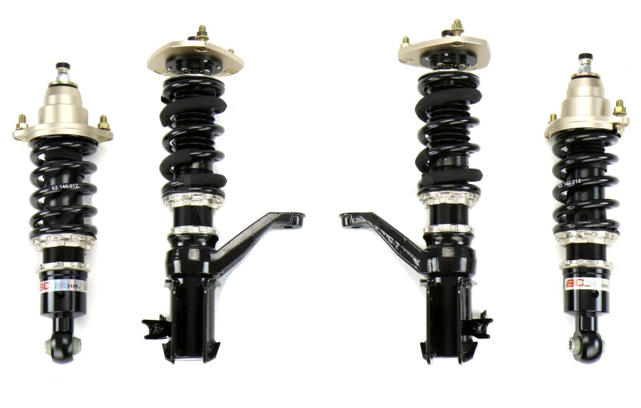 BC Racing 02-06 RSX BR Type Coilovers with Swift Spring Upgrade