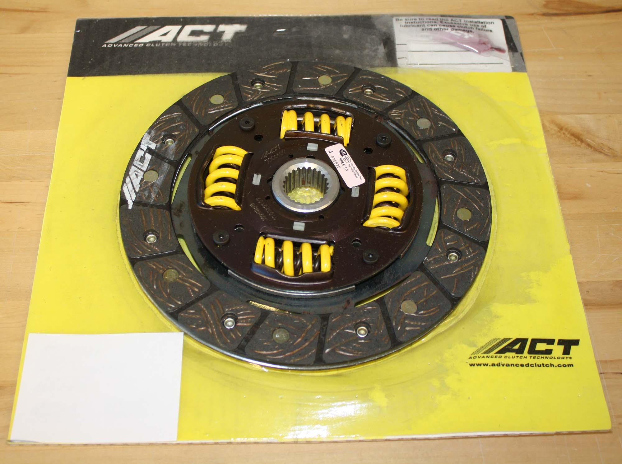 ACT Performance Street Sprung Disc