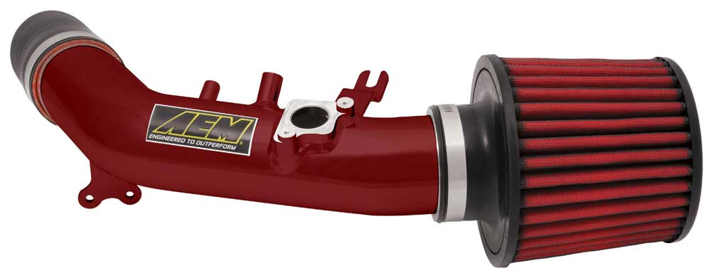 AEM 06-07 Civic Si Short Ram Intake: Red