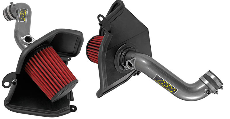 AEM 16-17 Civic 2.0L Cold Air Intake: Silver