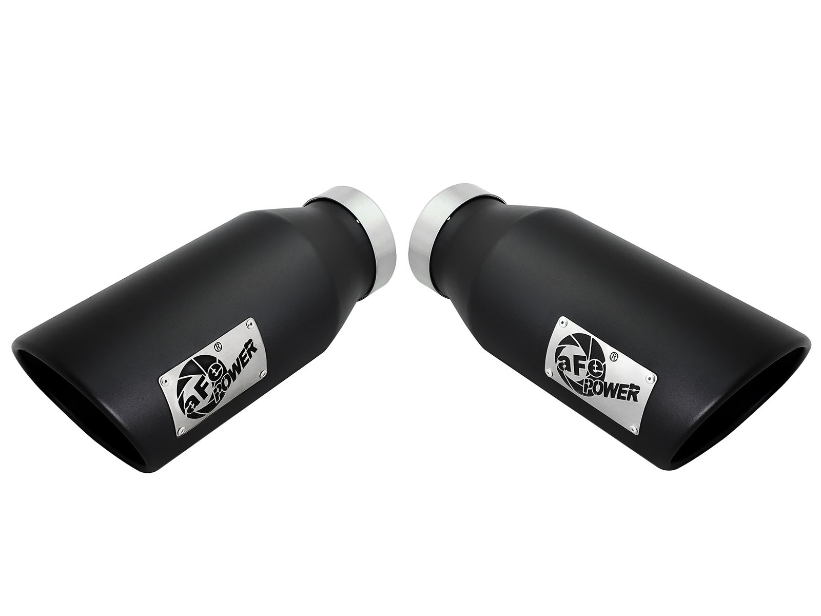 "aFe Power Black 4"" MACH Force-Xp Universal Stainless Steel Exhaust Tips"