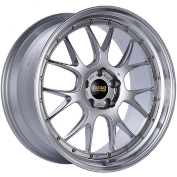 BBS LM 326 Diamond Silver w/ Polished S.S. Lip: 21x10 +35