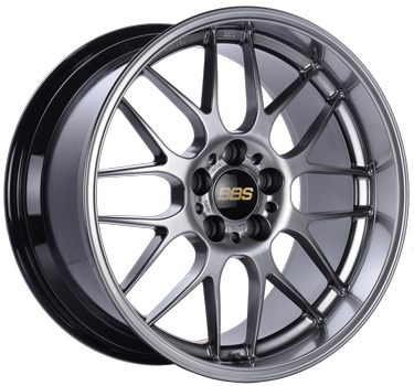BBS RG 762 Diamond Black: 18x9 +45